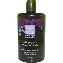 Kiss My Face Silky Soft Bath  Shower Gel