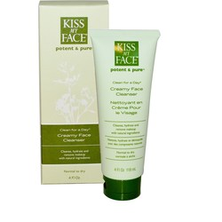 Kiss My Face Clean for a Day Organic Creamy Face Cleaner