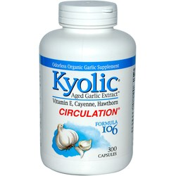 Kyolic Kyolic Formula 106 Healthy Heart with Vitamin E  Cayenne