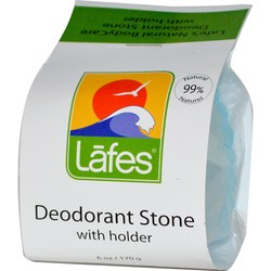 Lafe's Natural Body Care Deodorant Stone with Holder