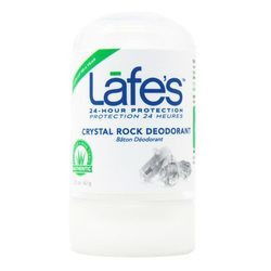 Lafe's Natural Body Care Crystal Rock Deodorant Stick