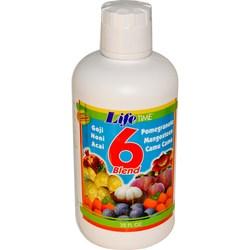 LifeTime 6 Blend Fruit Juice