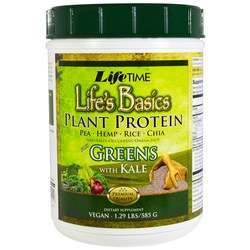 LifeTime Life's Basic Plant Protein Plus Greens with Kale