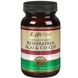 LifeTime Lifegevity Series Resveratrol Acai and Co-Q10