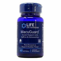 Life Extension MacuGuard Ocular Support with Saffron and Astaxanthin