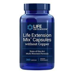 Life Extension Mix Capsules without Copper
