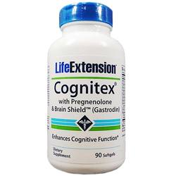 Life Extension Cognitex with Pregnenolone and Brain Shield