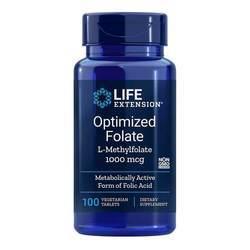 Life Extension Optimized Folate L-Methylfolate 1000 mcg