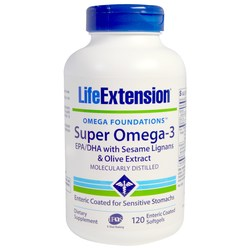 Life Extension Super Omega-3 EPADHA with Sesame Lignans