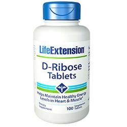 Life Extension D-Ribose Tablets