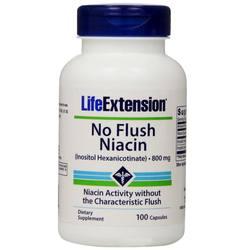 Life Extension No Flush Niacin 800 mg
