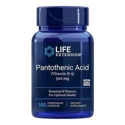 Life Extension Pantothenic Acid Vitamin B5 500 mg
