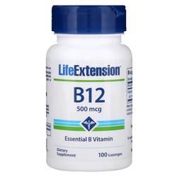 Life Extension B12  500 mcg