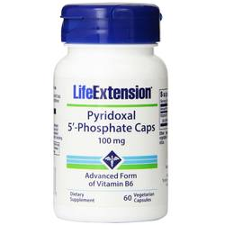 Life Extension Pyridoxal 5'-Phosphate Caps 100 mg
