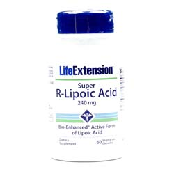 Life Extension Super R-Lipoic Acid 240 mg