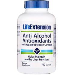 Life Extension Anti-Alcohol with HepatoProtection Complex