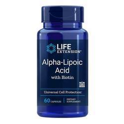 Life Extension Alpha Lipoic Acid with Biotin