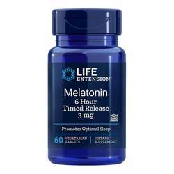 Life Extension Melatonin 3 mg 6 Hour Timed Release