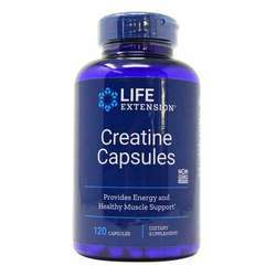 Life Extension Creatine Capsules Non-GMO