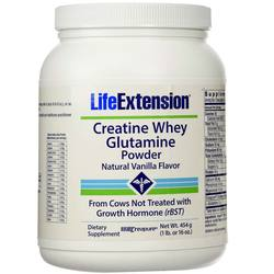 Life Extension Creatine Whey Glutamine Powder