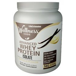 Life Extension Wellness Code Advanced Whey Protein Isolate