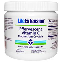 Life Extension Effervescent Vitamin C - Magnesium Crystals