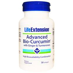 Life Extension Advanced Bio-Curcumin with Ginger and Turmerones