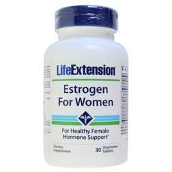 Life Extension Estrogen for Women