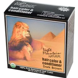 Light Mountain Natural Hair Color and Conditioner