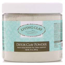Living Clay Detox Clay Fine Powder