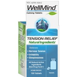 MediNatura WellMind Tension Relief Tablets