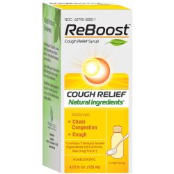 MediNatura ReBoost Cough Relief Syrup