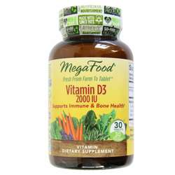 MegaFood Vitamin D3 2-000 IU