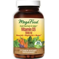 MegaFood Vitamin D3 1-000 IU