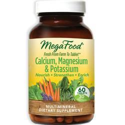 MegaFood Calcium- Magnesium and Potassium