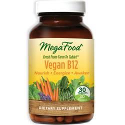 MegaFood Vegan B12 500 mcg