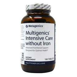 Metagenics Multigenics Intensive Care without Iron