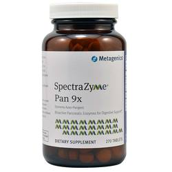 Metagenics SprectraZyme Pan 9x