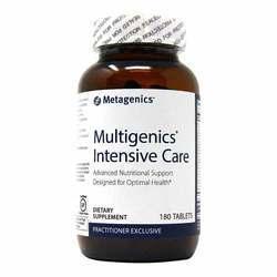 Metagenics Multigenics Intensive Care