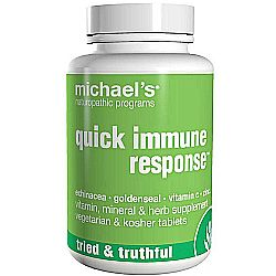 Michael's Quick Immune Response - 90 Tablets