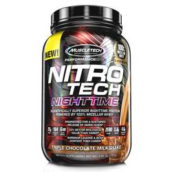 MuscleTech Nitro-Tech Nighttime Protein