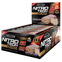MuscleTech Nitro Tech Crunch Bars