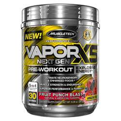 MuscleTech VaporX5 Next Gen Pre-Workout