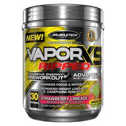 MuscleTech Vapor X5 Ripped Pre-Workout