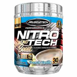 MuscleTech Nitro-Tech Amino Boost Performance Series French Vanilla