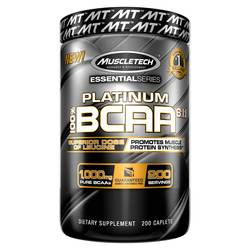 MuscleTech Essential Series Platinum BCAA 8:1:1