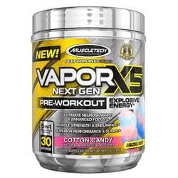 MuscleTech VaporX5 Next Gen Pre-Workout Cotton Candy