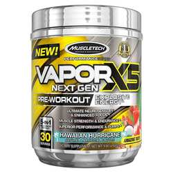 MuscleTech VaporX5 Next Gen Pre-Workout Hawaiian Hurricane
