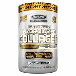 MuscleTech Essential Series Platinum 100- Hydrolyzed Collagen