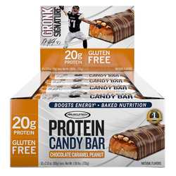 MuscleTech Protein Candy Bar Chocolate Caramel Peanut